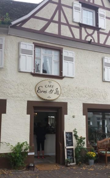 Sehr schmuck: das Café Erni & Illi