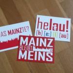 Schicke meenzer Postkarten