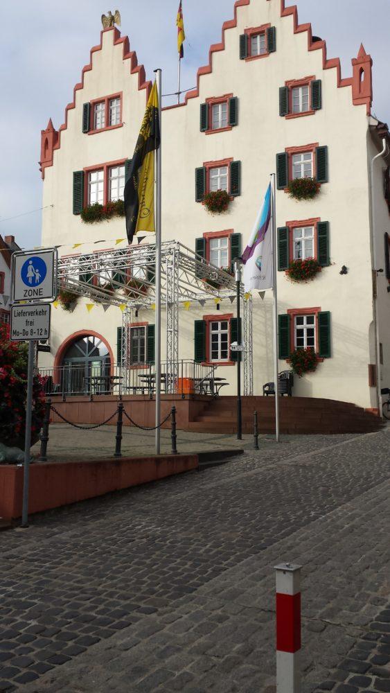Das schmucke Rathaus