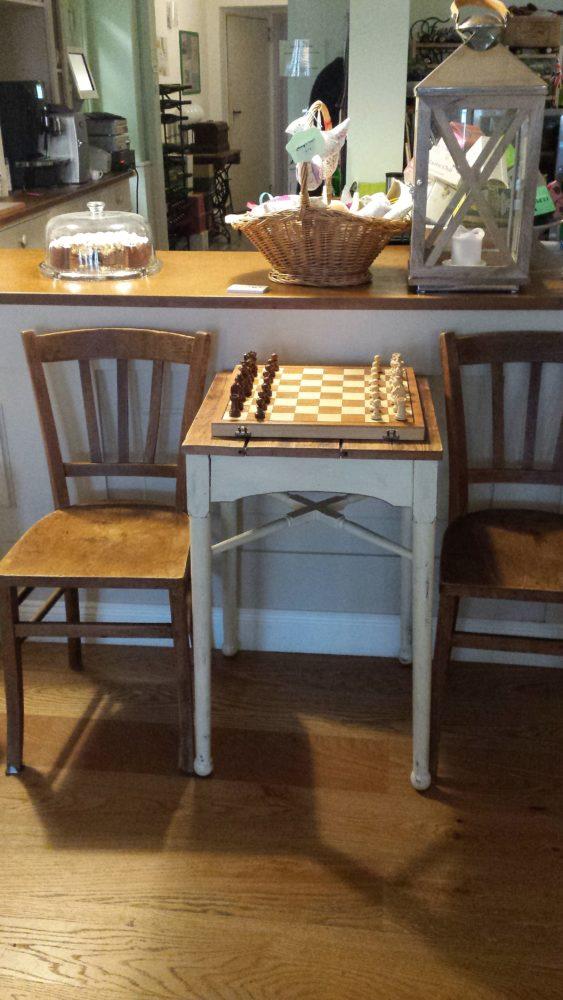Schach spielen ist hier auch möglich!
