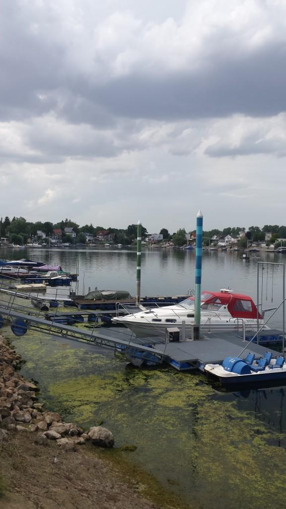 68 ha groß, 30 Meter tief: der Eicher See, unsere erste Station