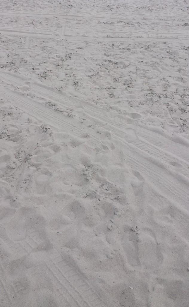 Deine Spuren im Sand …