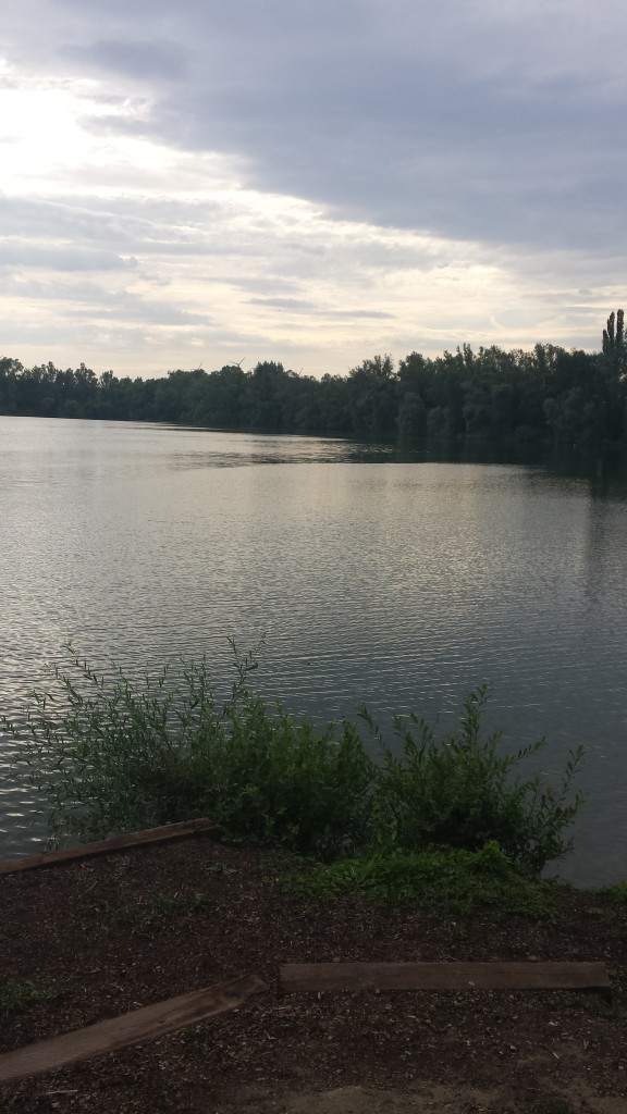 Mein liebster See auf unserer Fahrradtour