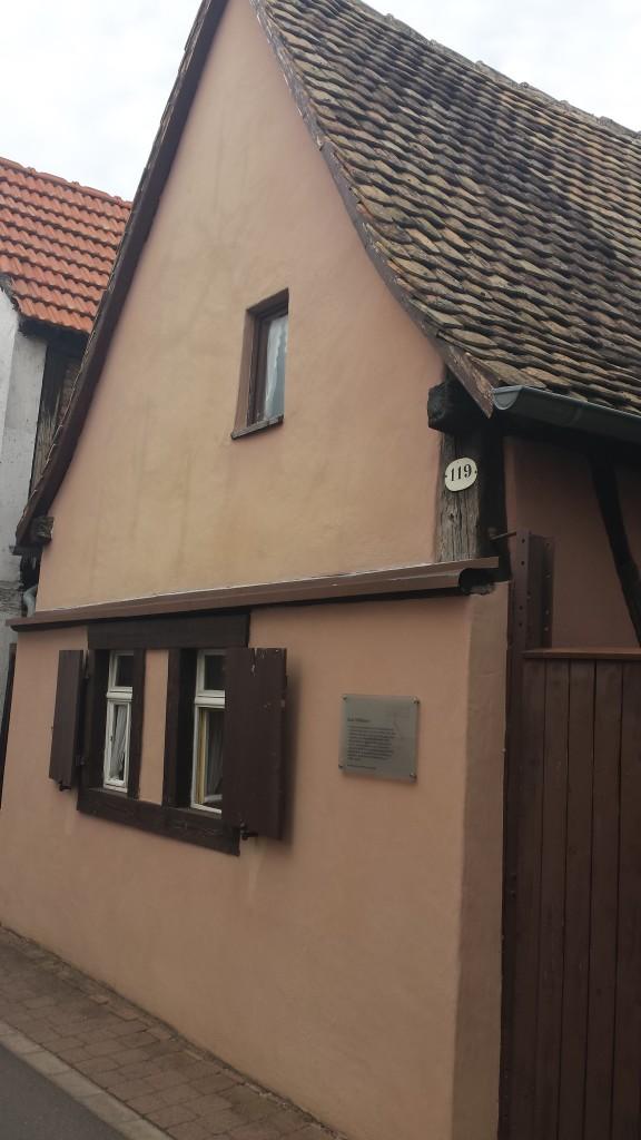 Tagelöhnerhaus in Gimbsheim