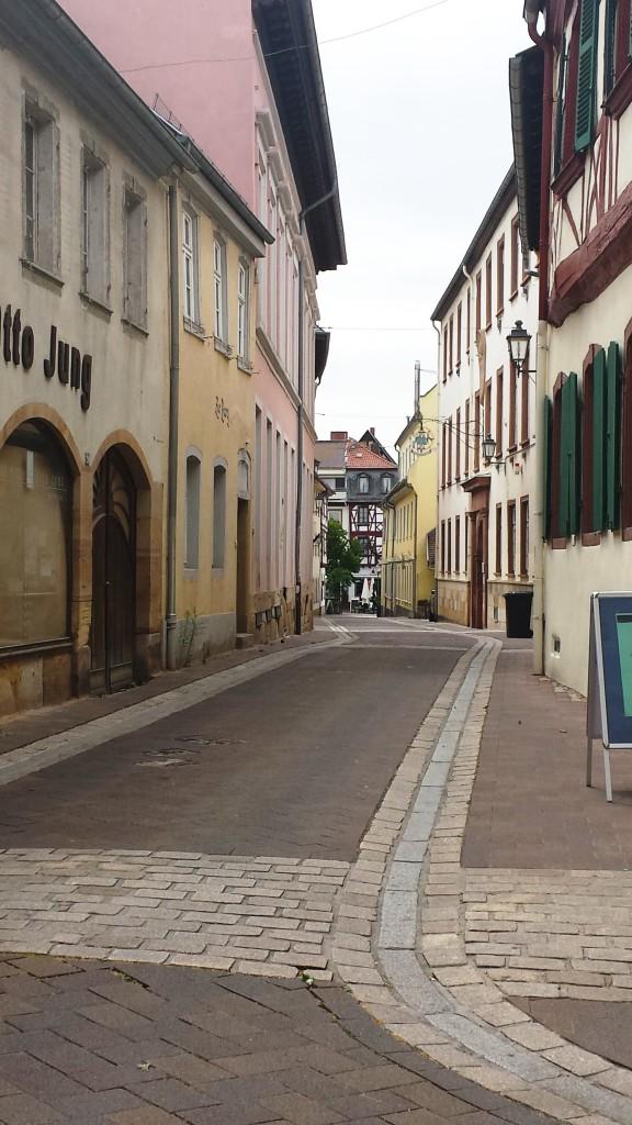 Geheimnisvolle Straße