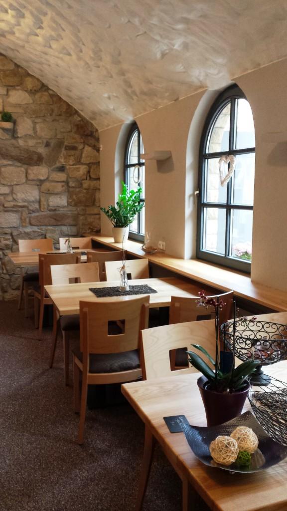 In der modernen Weinstube finden 30 Personen Platz