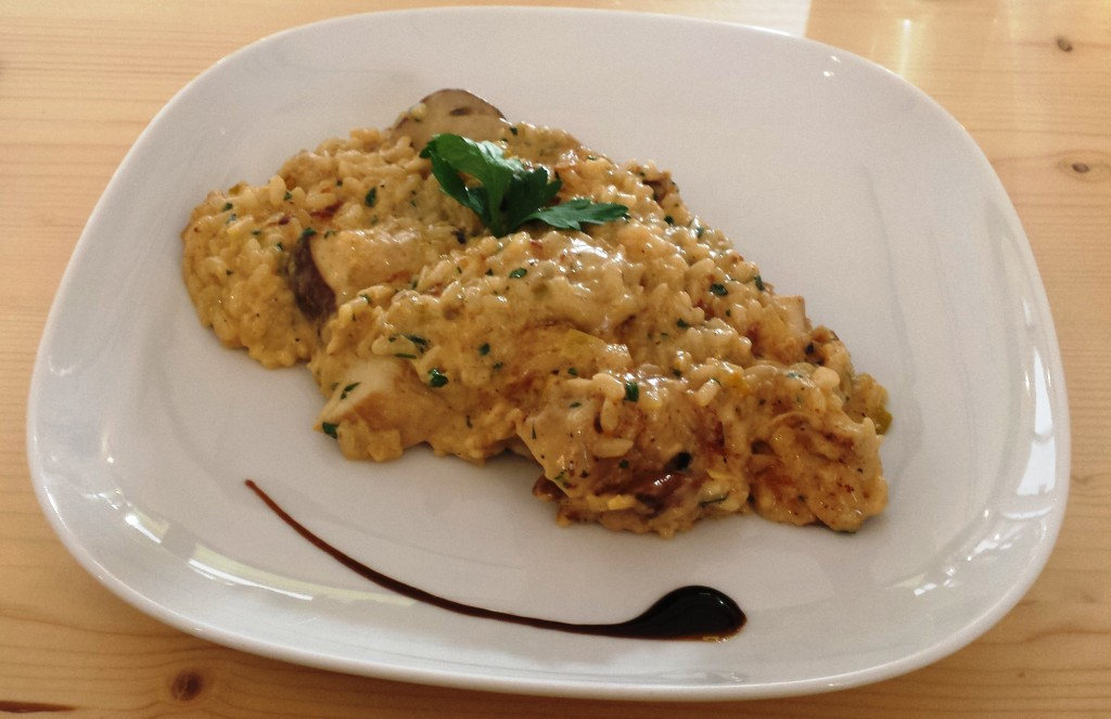Kundenliebling im Salute Salate: das Risotto