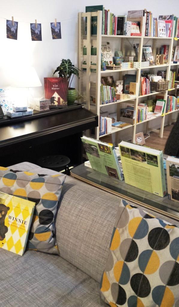 Couch, Buchladen