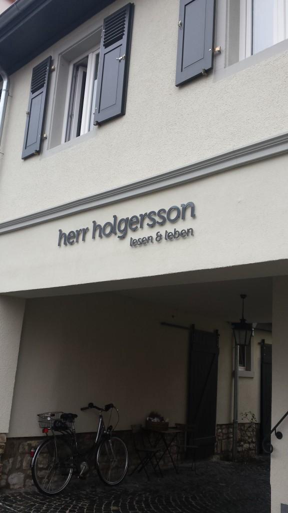 herr holgersson, Buchhandlung