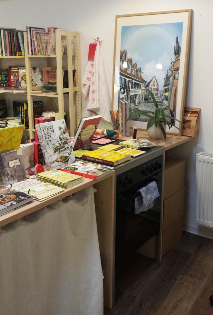 Küche, Bücher