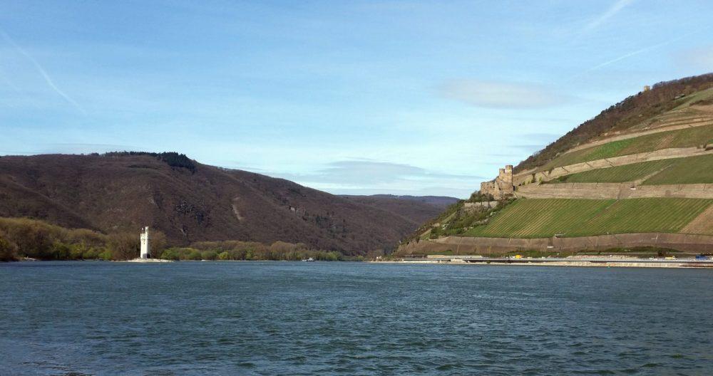 Bingen Mäuseturm Rhein Ruine Ehrenfels Rheinhessen Rheinhessenliebe