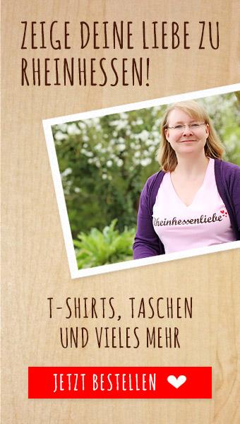 Rhoihesse Tasche, Weck, Worscht & Woi T-shirt