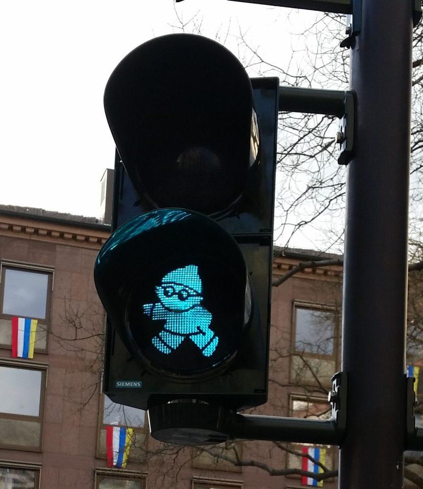 Mainzelmännchen-Ampel