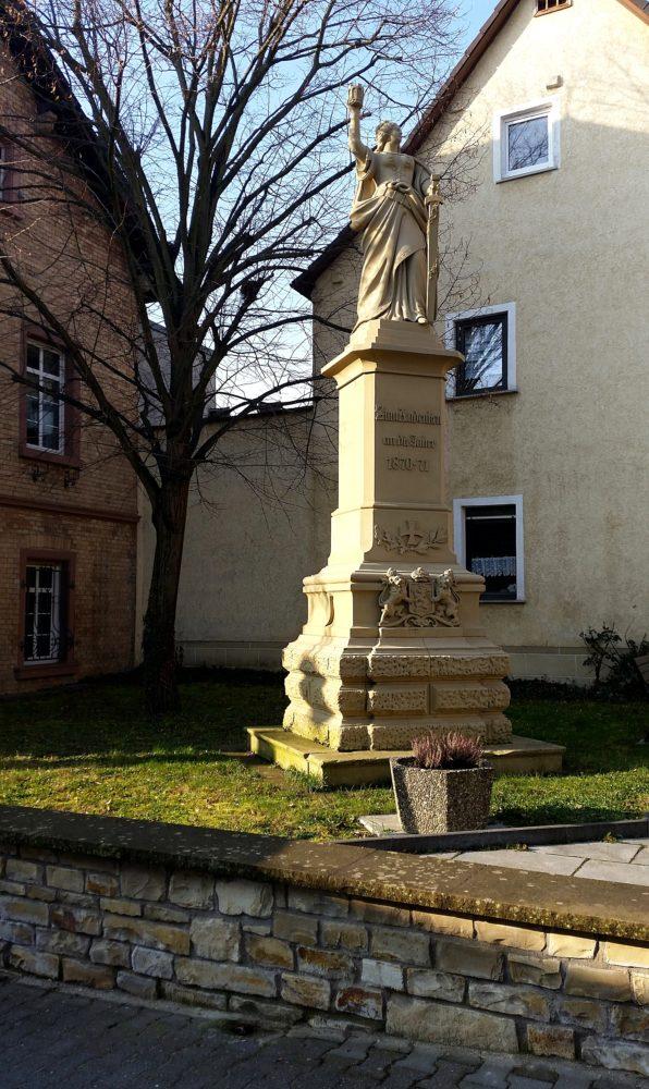Denkmal Wanderung Jugenheim Rheinhessen