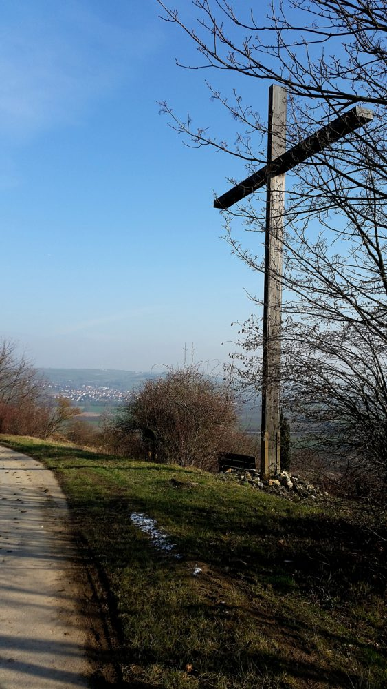 Friedenskreuz Wanderung Jugenheim Rheinhessen