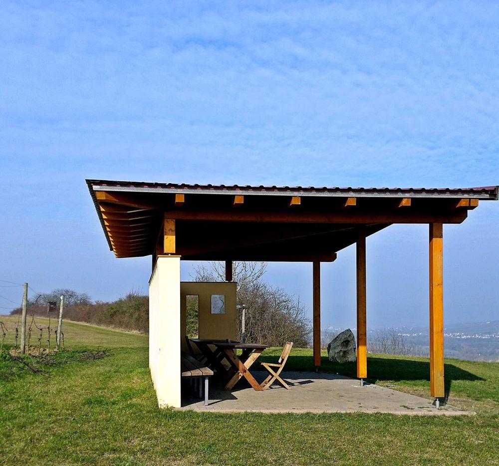 Schick-Pavillon Wanderung Jugenheim