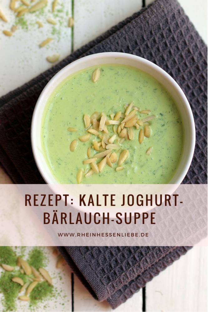 Joghurt-Bärlauch-Suppe