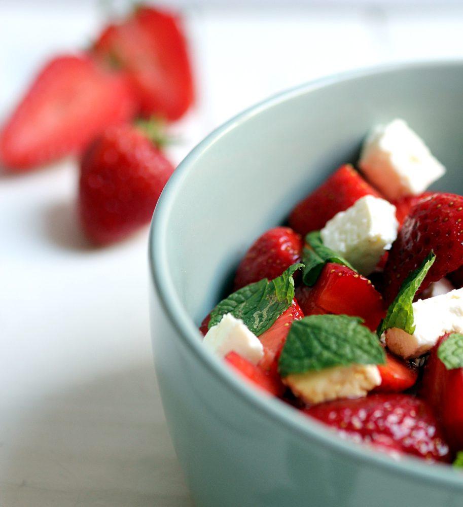 Erdbeer-Feta-Salat