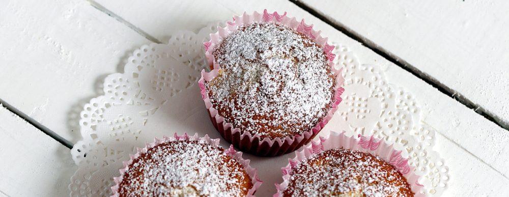 Pfirsich-Rosmarin-Muffins