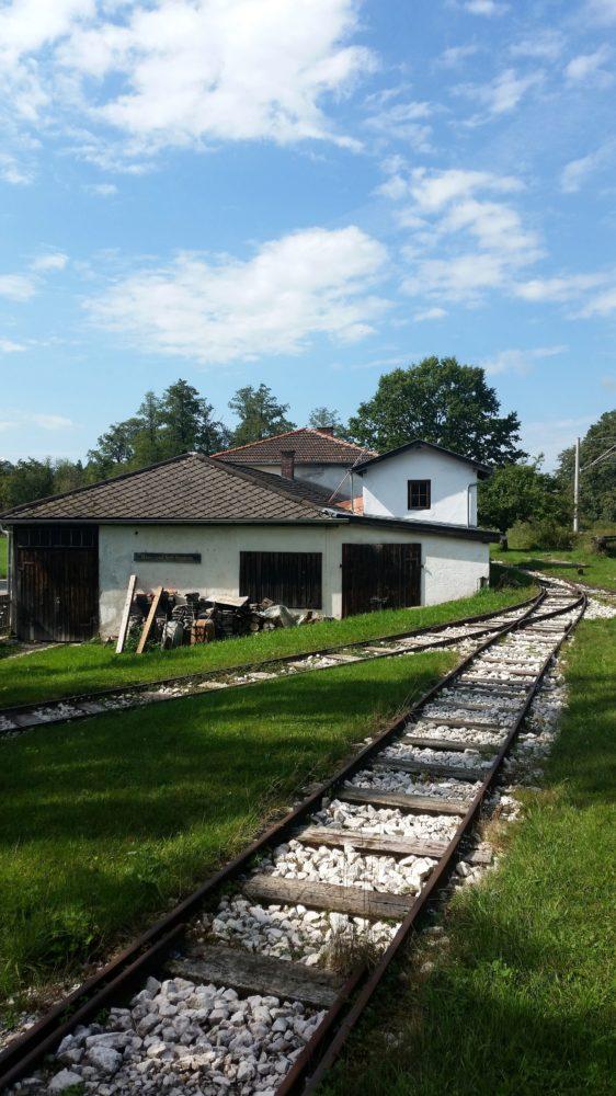 Torfbahnhof Rottau Chiemgau