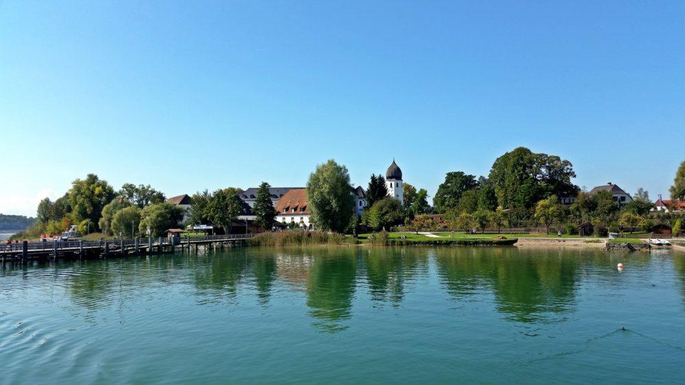 Chiemgau Chiemsee Fraueninsel