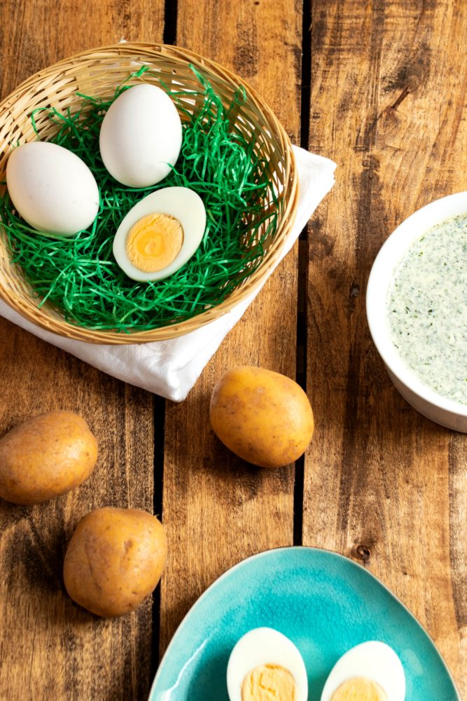 Grüne Soße mit Joghurt