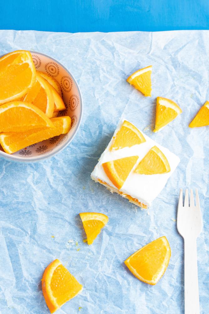 Orangen-Mandarinen-Kuchen