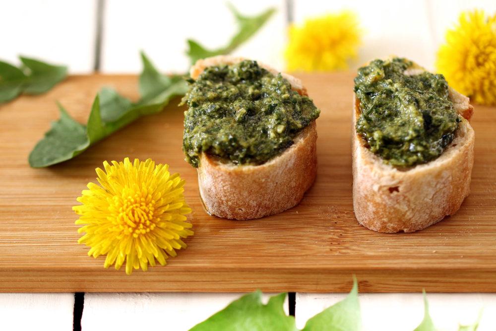 Löwenzahn-Pesto - vegetarisch, einfach, köstlich - Rheinhessenliebe