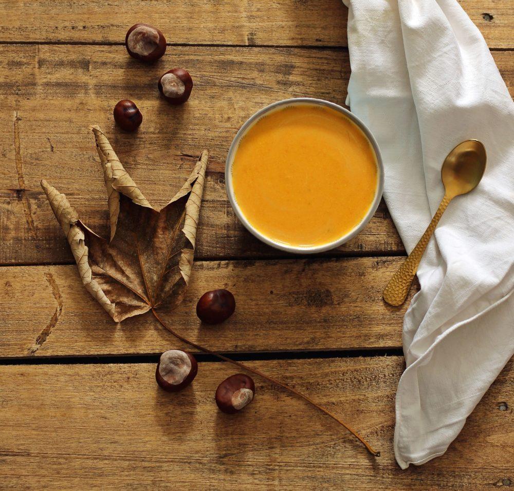 Kürbissuppe Rezept mit Hokkaido Kürbis