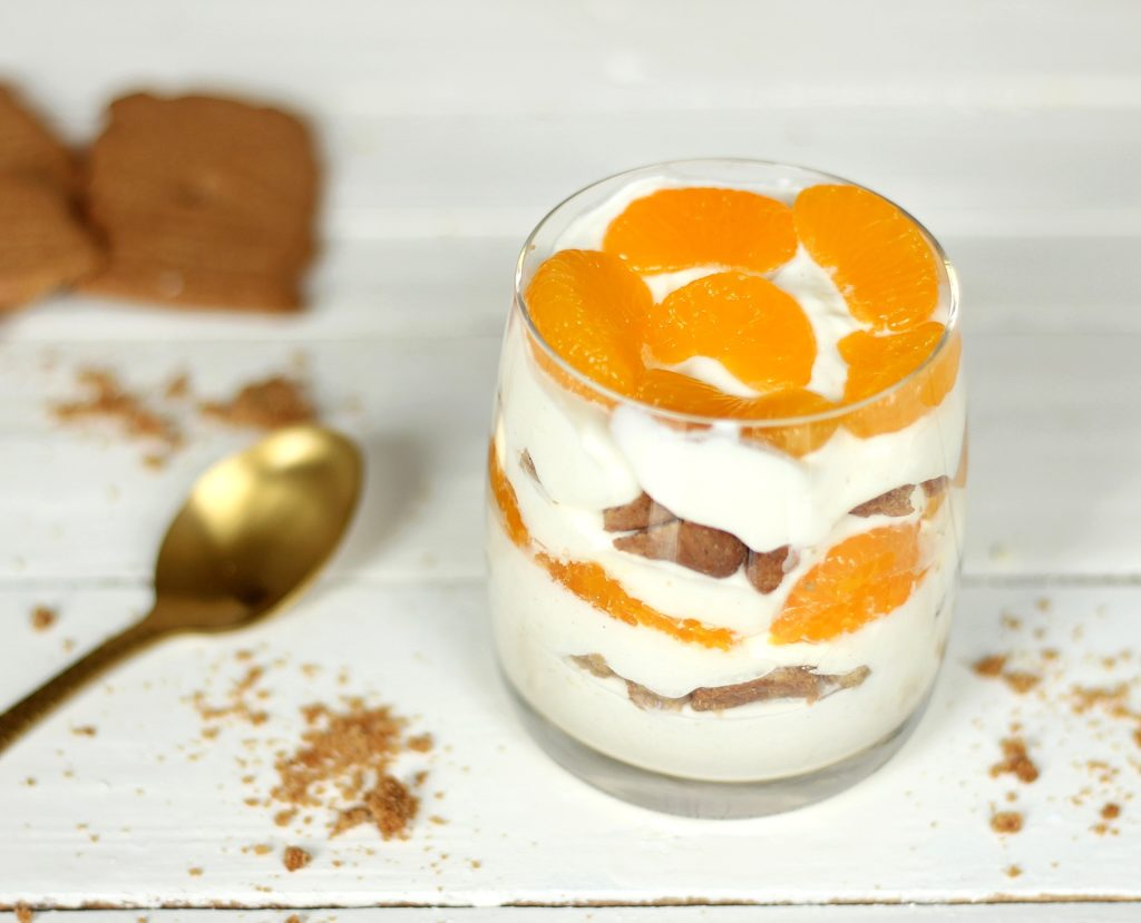 Neues Lieblingsrezept: Spekulatius-Mandarinen-Dessert