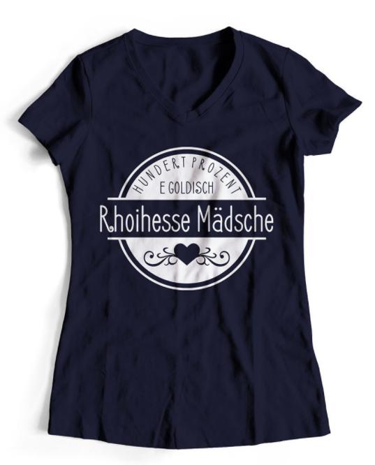 Rhoiihesse-T-Shirt Damen