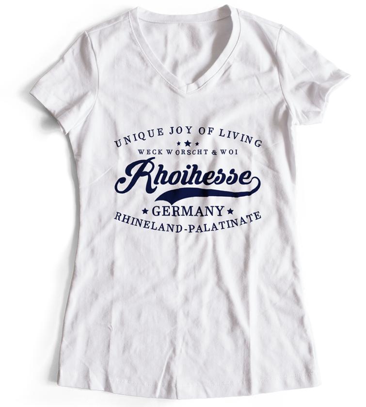 Rheinhessen T-Shirt Frauen