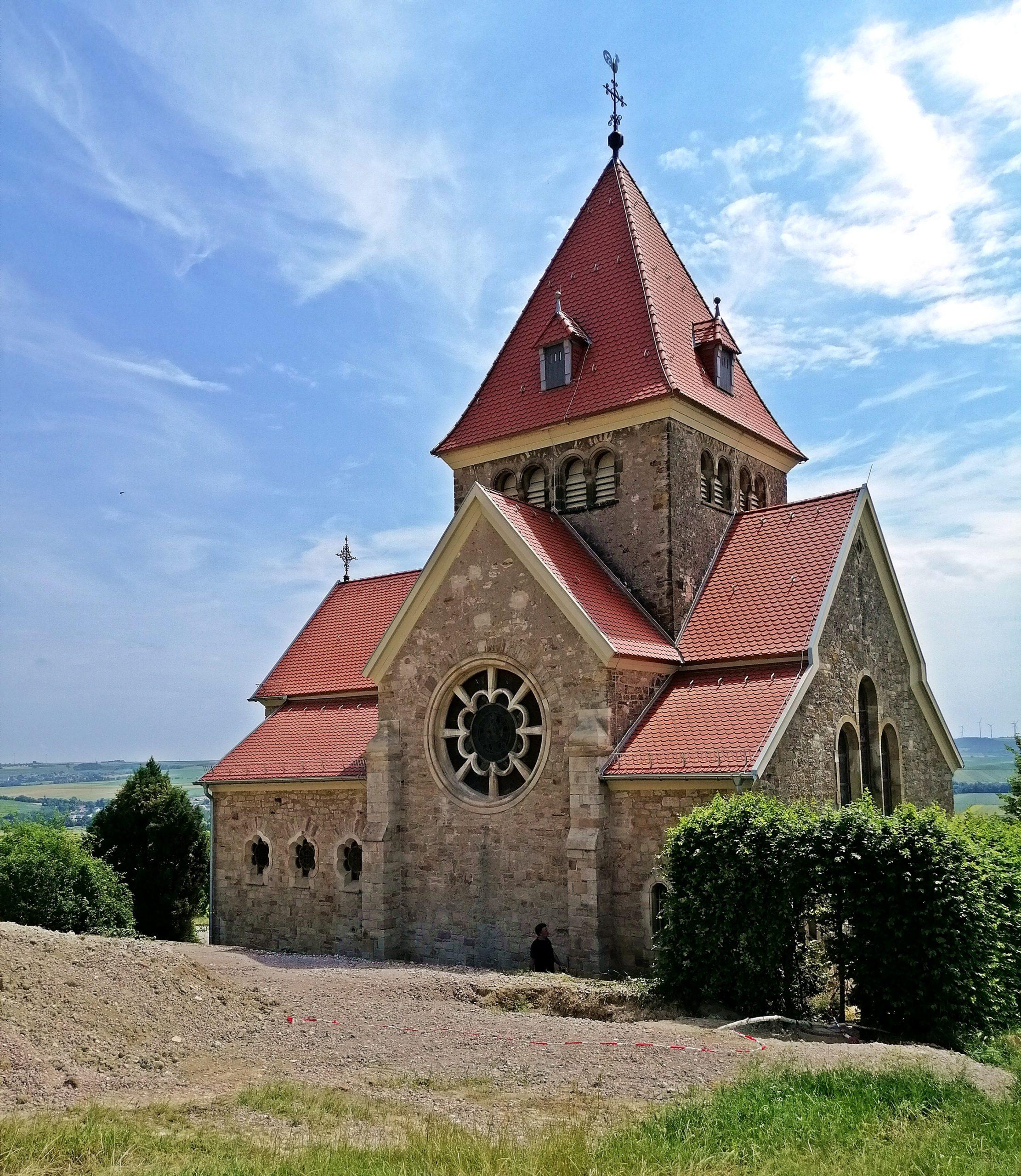 Rheinhessische Sehenswürdigkeiten: Kreuzkapelle Gau-Bickelheim